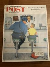 norman rockwell puzzle saturday evening post norman