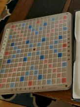 scrabble deluxe rotating game board