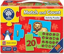 jigsaw puzzle orchard toys match count 20x 2pc 19