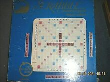 scrabble game deluxe edition turntable