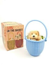alps wind up toy little dog puppy in