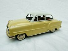 arnold opel rekord tin toy car friction