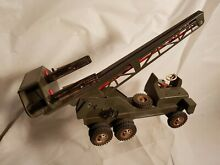 us zone germany tin toy 1950 s strenco missile