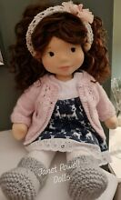 waldorf steiner doll by janet powell