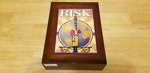 risk collection wood book shelf edition