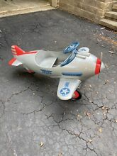 steelcraft airplane 1940s murray pursuit pedal