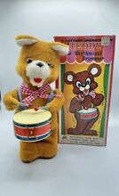 alps 1960 s battery operated teddy