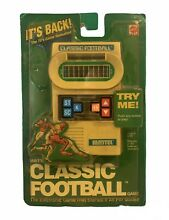 mattel classic football electronic game 2000 plastic is
