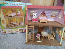 sylvanian families epoch cozy cottage home starter