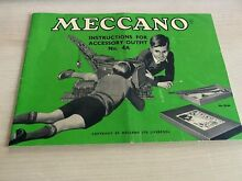 meccano instructions for accessory outfit