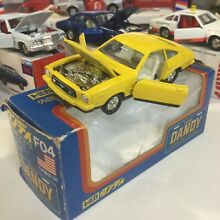 tomy tomica dandy f04 yellow ford