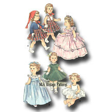terri lee doll pattern 16 formal gown party dress
