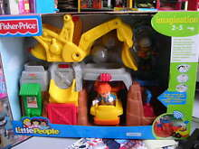 little people eddie e il cantiere fisher price