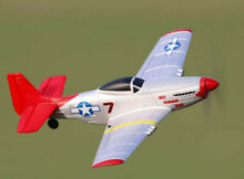 rc plane sonik rc mustang p 51 400 ready to