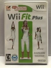 wii fit plus nintendo wii 2009 complete w