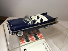 western models 1958 plymouth belvedere 1 43 scale