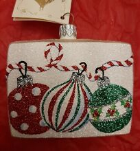 patricia breen greetings ornament trio varient