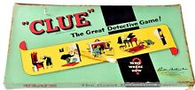 board game parker bros clue great detective
