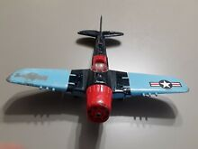 hubley toy airplane fighter bomber diecast