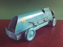 mettoy large british tin wind up open
