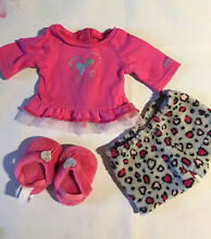 american girl doll genuine lovely leopard pjs outfit