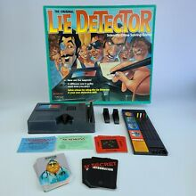 mattel lie detector original lie detector board game