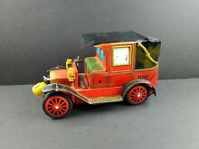 alps early model limousine tin litho toy