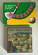tiddlywinks two golf games bunkered golf
