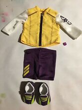 american girl doll genuine cycling outfit complete