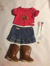 american girl doll genuine western riding outfit