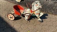 1950 mobo s toy horse buggy