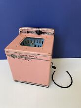 1950 wolverine pink automatic washer