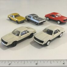 wiking 2x herpa white ford mustang 5lt