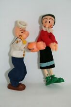popeye et olive figurines à pince pince