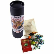 brimtoy giant marbles tub hand picked glass