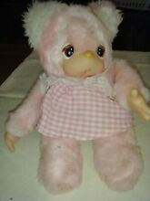 russ berrie 1977 plush toy felicia doll pink