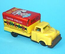 1950 friction toy litho toy car oven