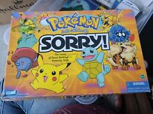 board game pokemon sorry 2000 parker brothers