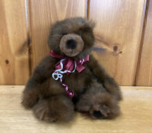 russ berrie co plush timber grizzly bear 12