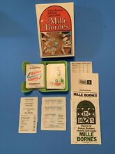 mille bornes french auto racing card game tray