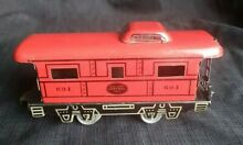 marx toys marx early 694 nyc caboose silver