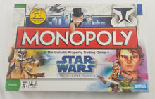 monopoly star wars clone wars 2007 by parker