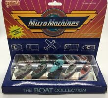galoob micro machines boat collection
