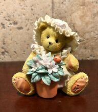 cherished teddies violet blessings bloom when you are