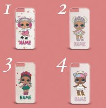 hard plastic doll personalised name initials gift for