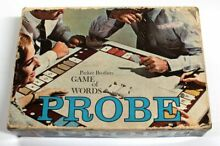 probe 1964 parker brothers word game