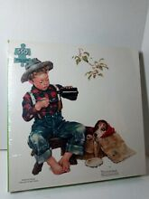 norman rockwell puzzle mysterious malady puzzle 550 pieces