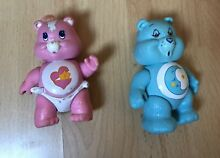 care bears lot 2 figurines les bisounours