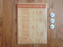 remco showboat cinderella theater play
