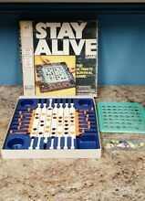 stay alive game 1971 stay alive board game by